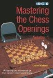 Portada de MASTERING THE CHESS OPENINGS - VOLUME 1 BY WATSON, JOHN (2006) PAPERBACK