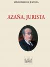 Portada de AZAÑA, JURISTA