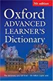 Portada de OXF ADV LEARNER'S DICT 7E HB + CDROM