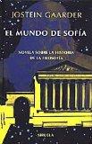 Portada de EL MUNDO DE SOFIA NOVELA SOBRE LA HISTORIA DE LA FILOSOFIA