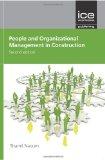 Portada de PEOPLE AND ORGANISATIONAL MANAGEMENT IN CONSTRUCTION