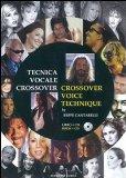 Portada de TECNICA VOCALE CROSSOVER. CON CD AUDIO. EDIZ. ITALIANA E INGLESE