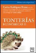 Portada de TONTERIAS ECONOMICAS II