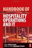 Portada de HANDBOOK OF HOSPITALITY OPERATIONS AND IT