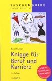 Portada de KNIGGE FÜR BERUF UND KARRIERE