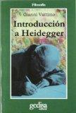 Portada de INTRODUCCION A HEIDEGGER