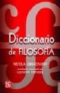 Portada de DICCIONARIO DE FILOSOFIA