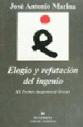 Portada de ELOGIO Y REFUTACION DEL INGENIO