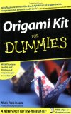 Portada de ORIGAMI KIT FOR DUMMIES