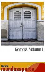 Portada de ROMOLA, VOLUME I