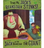 Portada de TRUST ME, JACK'S BEANSTALK STINKS: THE STORY OF JACK AND THE BEANSTALK AS TOLD BY THE GIANT (OTHER SIDE OF THE STORY (LIBRARY)) (HARDBACK) - COMMON