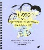 Portada de LIBRO DE EXPERIENCIAS-EXPERIMENTOS (DIVIDIDOS EN DOS)