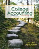 Portada de COLLEGE ACCOUNTING CH 1-14 WITH ANNUAL REPORT 2ND BY WILD, JOHN, RICHARDSON, VERNON, SHAW, KEN (2010) PAPERBACK