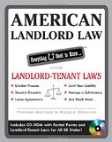 Portada de AMERICAN LANDLORD LAW: EVERYTHING U NEED TO KNOW ABOUT LANDLORD-TENANT LAWS [WITH CDROM]