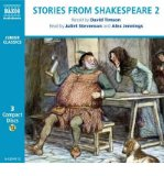 Portada de STORIES FROM SHAKESPEARE: JULIUS CAESAR , THE MERCHANT OF VENICE, THE TAMING OF THE SHREW, AS YOU LIKE IT, RICHARD II, HENRY IV PART I AND PART 2, THE MERRY WIVES OF WINDSOR V. 2 (CLASSIC LITERATURE WITH CLASSICAL MUSIC) (CD-AUDIO) - COMMON