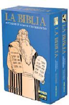 Portada de LA BIBLIA (COFRE QUE INCLUYE LOS DOS VOLUMENES)