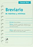 Portada de BREVIARIO DE MAXIMAS Y MINIMAS