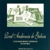 Portada de CD ROM. REAL AUDIENCIA DE GALICIA.CATALOGO DE PREITOS E EXPEDIENTES DE MOSTEIROS