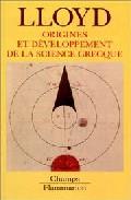 Portada de ORIGINES ET DEVELOPPEMENT DE LA SCIENCE GRECQUE MAGIE, RAISON ET EXPERIENCE