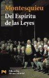 Portada de DEL ESPIRITU DE LAS LEYES