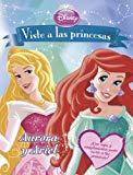Portada de VISTE A LAS PRINCESAS. AURORA Y ARIEL: LIBRO DE RECORTABLES (DISNEY. PRINCESAS)