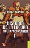 Portada de HISTORIA DE LA LOCURA EN LA EPOCA CLASICA II