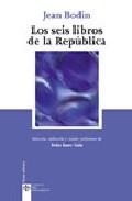 Portada de LOS SEIS LIBROS DE LA REPUBLICA
