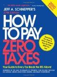 Portada de HOW TO PAY ZERO TAXES 2010