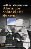 Portada de AFORISMOS SOBRE EL ARTE DE VIVIR