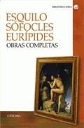 Portada de ESQUILO, SOFOCLES, EURIPIDES: OBRAS COMPLETAS