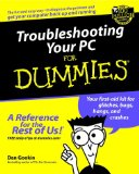 Portada de TROUBLESHOOTING YOUR PC FOR DUMMIES