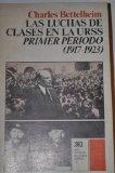 Portada de LAS LUCHAS DE CLASES EN LA URSS. PRIMER PERÍODO, 1917-1923. SEGUNDO PERÍODO, 1923-1930