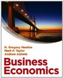 Portada de BUSINESS ECONOMICS (WITH COURSEMATE AND EBOOK) BY N. GREGORY MANKIW ( 2013 ) PAPERBACK