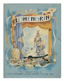 Portada de LOHENGRIN; THE STORY OF WAGNER'S OPERA. ADAPTED BY ROBERT LAWRENCE AND ILLUSTRATED BY ALEXANDRE SEREBRIAKOFF