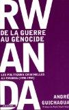 Portada de RWANDA, DE LA GUERRE AU GÉNOCIDE : LES POLITIQUES CRIMINELLES AU RWANDA (1990-1994)