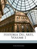 Portada de HISTORIA DEL ARTE, VOLUME 1