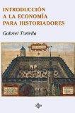 Portada de INTRODUCCIÓN A LA ECONOMÍA PARA HISTORIADORES