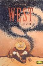 Portada de W.E.S.T. Nº 3: EL SANTERO