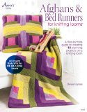 Portada de AFGHANS & BED RUNNERS FOR KNITTING LOOMS
