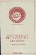 Portada de METAMORFOSIS DE LA CULTURA MODERNA