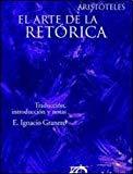 Portada de ARISTOTELES : EL ARTE DE LA RETORICA