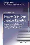 Portada de TOWARDS SOLID-STATE QUANTUM REPEATERS