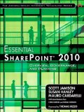 Portada de ESSENTIAL SHAREPOINT 2010: OVERVIEW, GOVERNANCE, AND PLANNING (ADDISON-WESLEY MICROSOFT TECHNOLOGY)