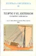 Portada de EGIPTO Y EL EXTERIOR CONTACTOS E INFLUENCIAS