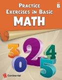 Portada de PRACTICE EXERCISES IN BASIC MATH: LEVEL B (GRADE 2)