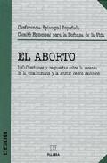 Portada de EL ABORTO: 100 CUESTIONES Y RESPUESTAS