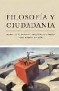 Portada de FILOSOFIA Y CIUDADANIA