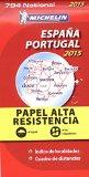 """Portada de MAPA NATIONAL ESPAÑA - PORTUGAL """"ALTA RESISTENCIA"""" (MAPAS NATIONAL MICHELIN)"""