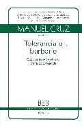 Portada de TOLERANCIA O BARBARIE: OCCIDENTE ANTE EL RETO DE LA CONVIVENCIA