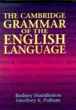 Portada de THE CAMBRIDGE GRAMMAR OF THE ENGLISH LANGUAGE BY HUDDLESTON, RODNEY, PULLUM, GEOFFREY K. (2002) HARDCOVER